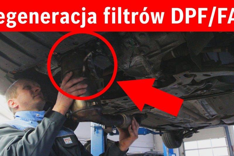 Regeneracja i czyszczenie filtrów cząstek stałych DPF / FAP i katalizatorów w 1 dzień. Cały kraj