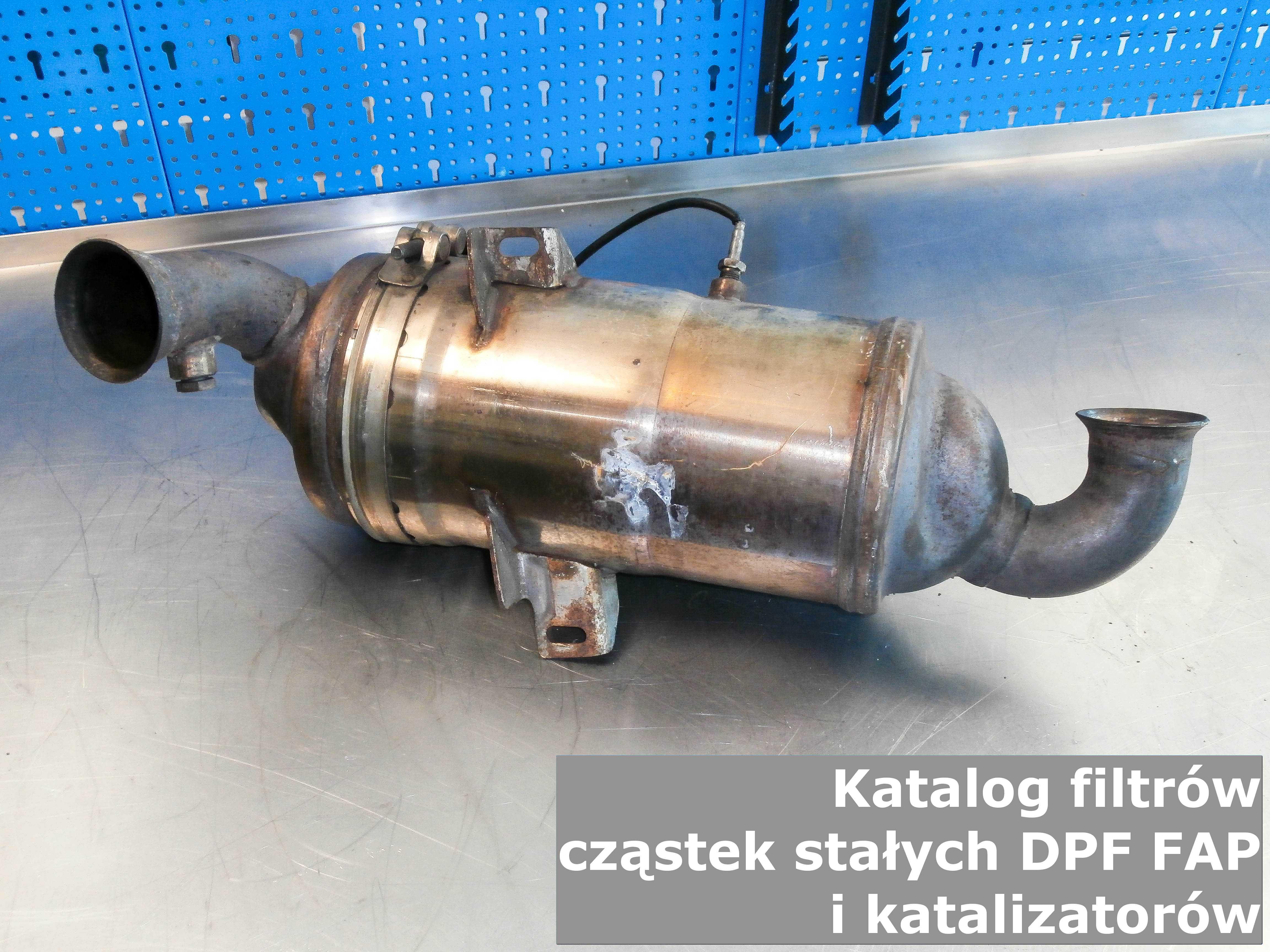 Chłodny Katalog filtrów cząstek stałych DPF FAP i katalizatorów - Cena ZU35
