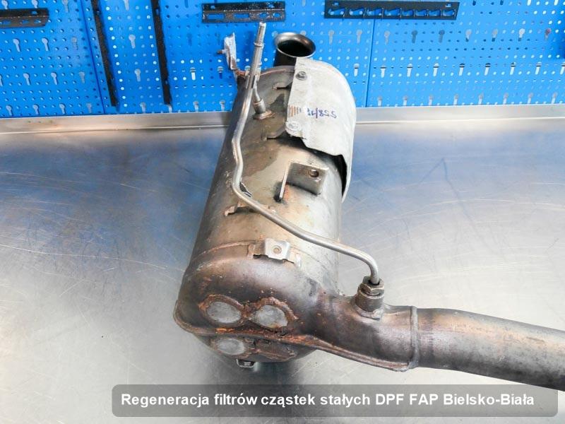 Filtr cząstek stałych DPF FAP zregenerowany w pracowni w Bielsku-Białej