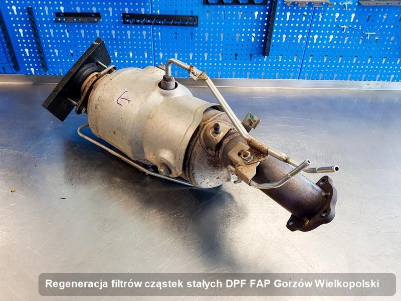 Filtr DPF FAP zregenerowany w przedsiębiorstwie z Gorzowa Wielkopolskiego