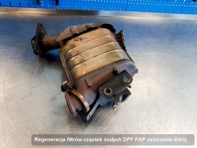 Filtr cząstek stałych oczyszczony w przedsiębiorstwie w Jastrzębiu-Zdroju