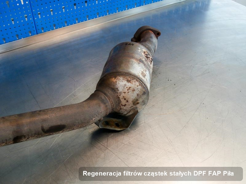 Filtr FAP zregenerowany w warsztacie z Piły