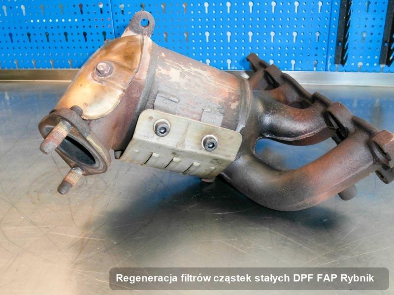 Filtr cząstek stałych DPF FAP wyczyszczony w firmie z Rybnika