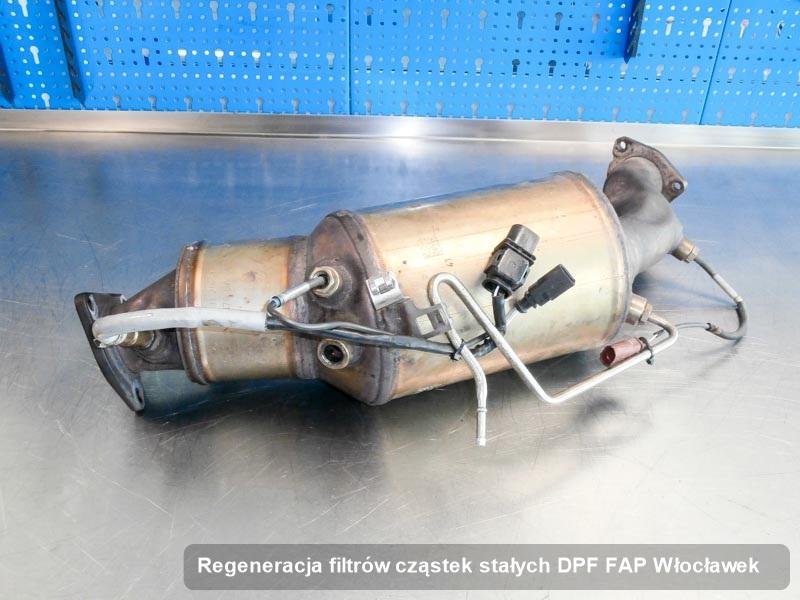 Filtr DPF zregenerowany w pracowni z Włocławka