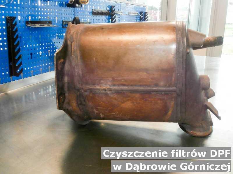 Filtr DPF wyczyszczony w warsztatowej pracowni w Dąbrowie Górniczej.