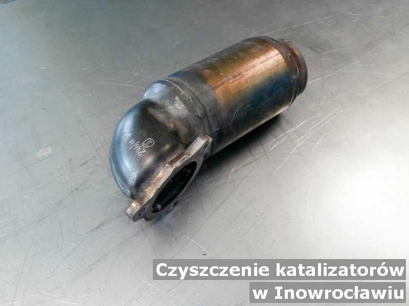 Katalizator po czyszczeniu w laboratorium w Inowrocławiu.