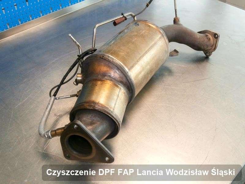 Filtr cząstek stałych DPF I FAP do samochodu marki Lancia w Wodzisławiu Śląskim wyremontowany w specjalnym urządzeniu, gotowy spakowania
