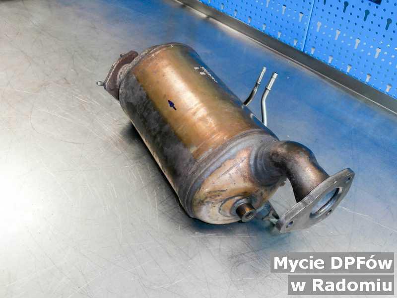 DPF umyty, wyczyszczony w warsztatowym laboratorium w Radomiu.