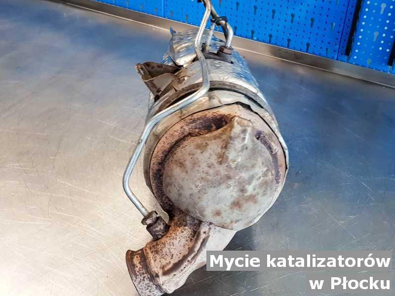 Katalizator SCR z Płocka umyty, po naprawie w warsztatowej pracowni.