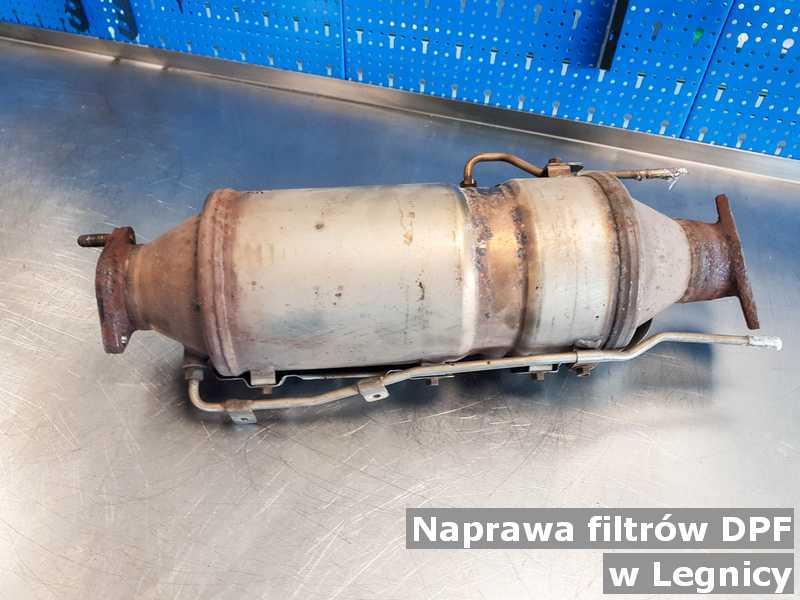 Po naprawie filtr czastek stałych DPF w Legnicy po naprawie w warsztatowym laboratorium.