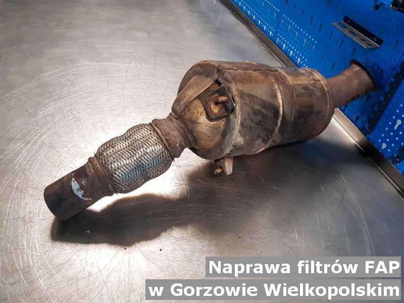 Po naprawie FAP z Gorzowa Wielkopolskiego naprawiony w pracowni.