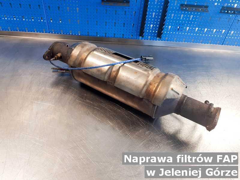 Naprawiony FAP w Jeleniej Górze po czyszczeniu w laboratorium.