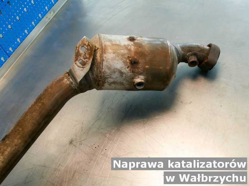 Naprawiony katalizator z Wałbrzycha naprawiony w pracowni.