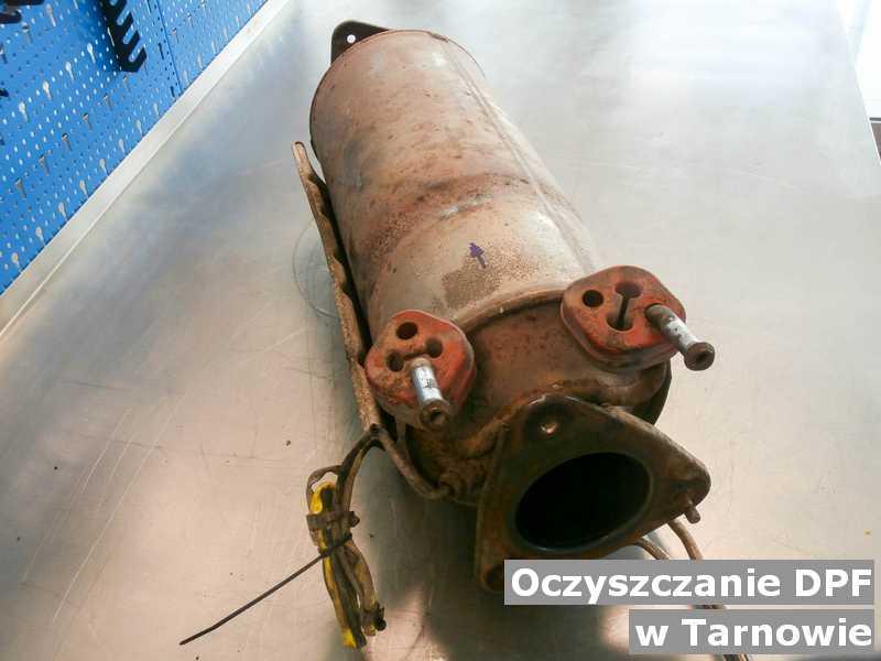 DPF w Tarnowie w warsztacie wyczyszczony, przed wysyłką do klienta.