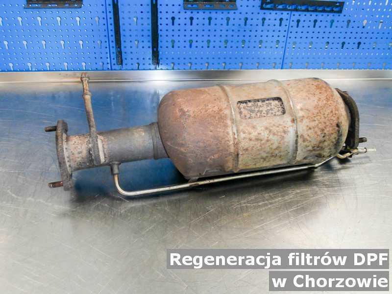 DPF w Chorzowie w laboratorium po regeneracji przygotowywany do wysłania.