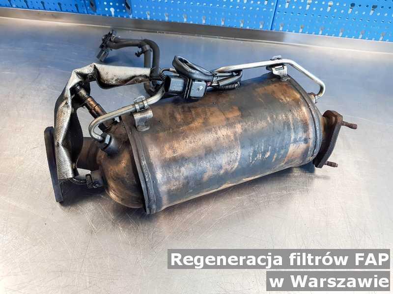 FAP w Warszawie w punkcie obsługi technicznej regenerowany przygotowywany do wysłania.