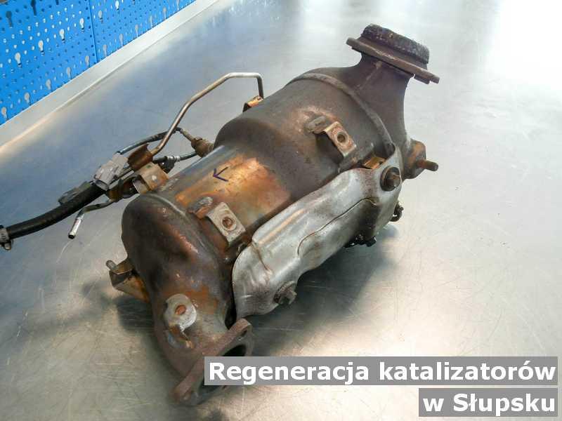Reaktor katalityczny z Słupska w punkcie obsługi technicznej zregenerowany przygotowywany do wysłania.